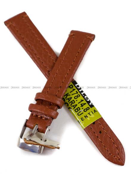 Pasek skórzany do zegarka - Diloy P178.14.8 - 14 mm