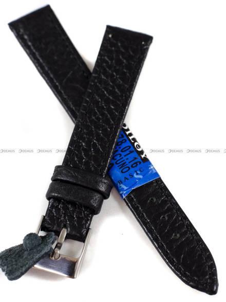Pasek skórzany do zegarka - Diloy P178.16.1 - 16 mm