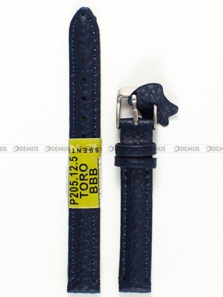 Pasek skórzany do zegarka - Diloy P205.12.5 - 12 mm