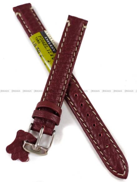 Pasek skórzany do zegarka - Diloy P206EL.12.4 - 12 mm