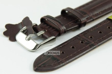 Pasek skórzany do zegarka - Diloy P260.14.2 - 14mm