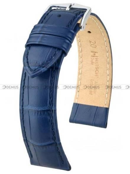 Pasek skórzany do zegarka - Hirsch Duke 01028180-2-18 - 18 mm - M