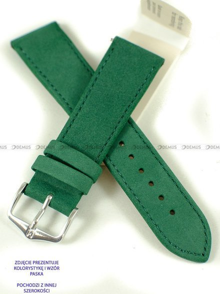 Pasek skórzany do zegarka - Hirsch Osiris 03433140-2-18 - 18 mm