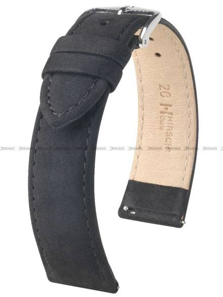 Pasek skórzany do zegarka - Hirsch Osiris 03433150-2-16 - 16 mm - M