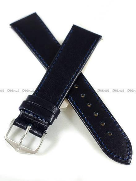 Pasek skórzany do zegarka - Hirsch Osiris 03475080-2-20 - 20 mm - L
