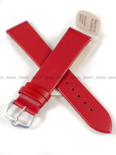 Pasek skórzany do zegarka - Hirsch Toronto 03702020-2-20 - 20 mm