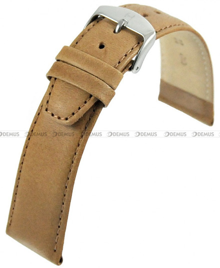 Pasek skórzany do zegarka - Horido 0077.08.20S - 20 mm