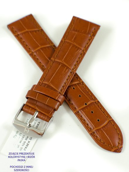 Pasek skórzany do zegarka - Horido 0189.03.24S - 24 mm