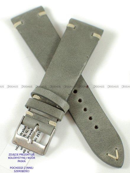 Pasek skórzany do zegarka - Horido 9450.07.20S - 20 mm - Zwężany