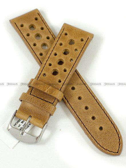 Pasek skórzany do zegarka - Horido 9616.03.22S - 22 mm