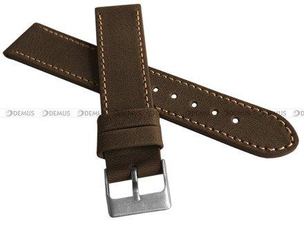 Pasek skórzany do zegarka - LAVVU LSAUC24 - 24 mm