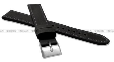 Pasek skórzany do zegarka - LAVVU LSAXB16 - 16 mm - XL