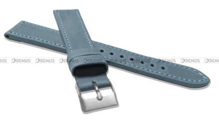 Pasek skórzany do zegarka - LAVVU LSAXJ18 - 18 mm - XXL