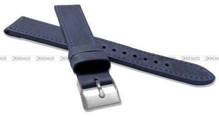 Pasek skórzany do zegarka - LAVVU LSAXL18 - 18 mm - XXL