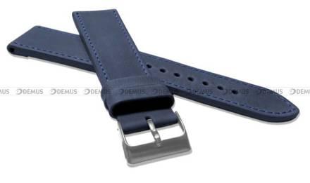 Pasek skórzany do zegarka - LAVVU LSAXL22 - 22 mm - XXL