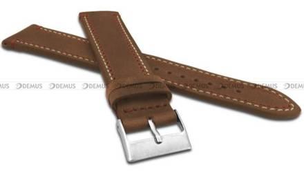 Pasek skórzany do zegarka - LAVVU LSDUE22 - 22 mm