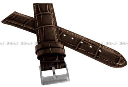Pasek skórzany do zegarka - LAVVU LSIUC22 - 22 mm
