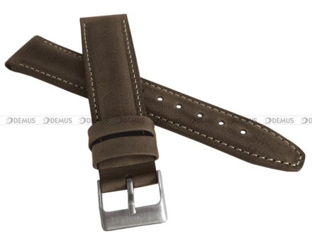 Pasek skórzany do zegarka - LAVVU LSKUC26 - 26 mm
