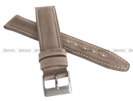 Pasek skórzany do zegarka - LAVVU LSKUF24 - 24 mm