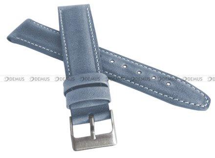 Pasek skórzany do zegarka - LAVVU LSKUJ18 - 18 mm