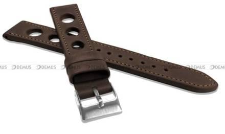 Pasek skórzany do zegarka - LAVVU LSMUC18 - 18 mm