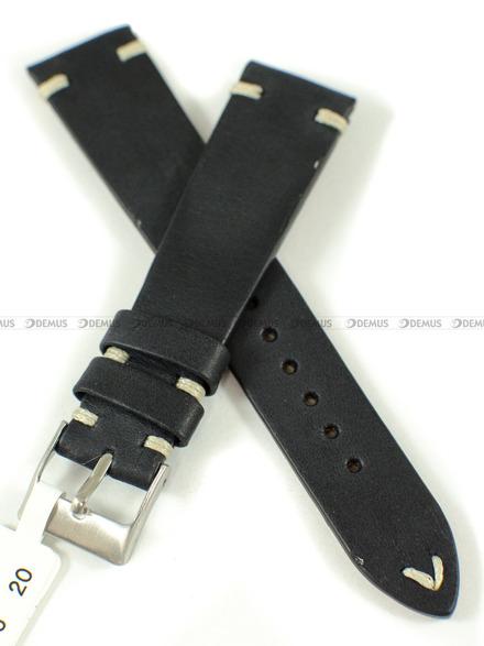 Pasek skórzany do zegarka - LAVVU LSNUB20 - 20 mm