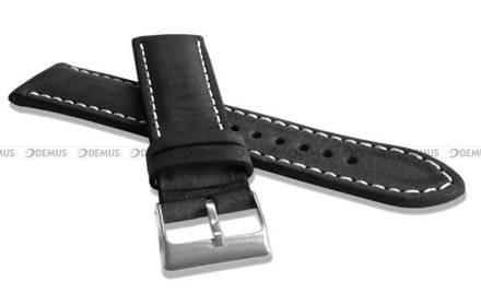 Pasek skórzany do zegarka - LAVVU LSRUB24 - 24 mm