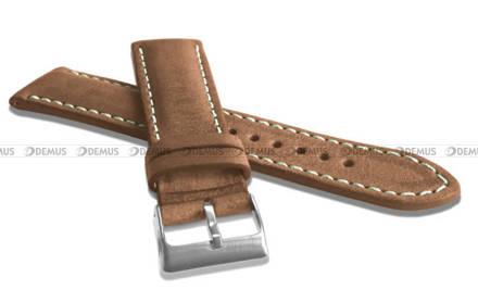 Pasek skórzany do zegarka - LAVVU LSRUD18 - 18 mm