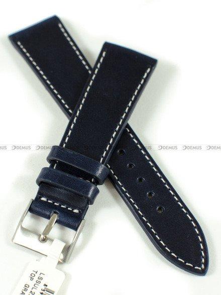 Pasek skórzany do zegarka - LAVVU LSSUL22 - 22 mm