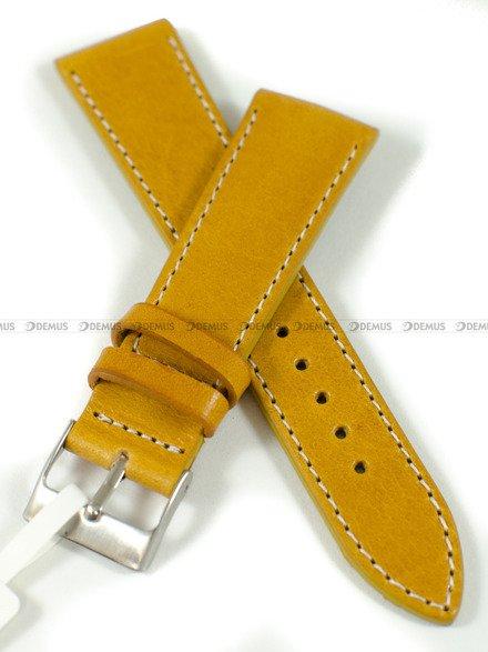 Pasek skórzany do zegarka - LAVVU LSSUO22 - 22 mm