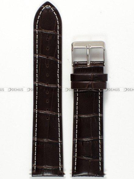 Pasek skórzany do zegarka Lorus PLS1.22.2.7-SR - 22 mm