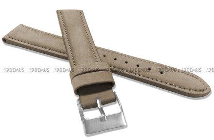 Pasek skórzany do zegarka - Minet MSNUC18 - 18 mm