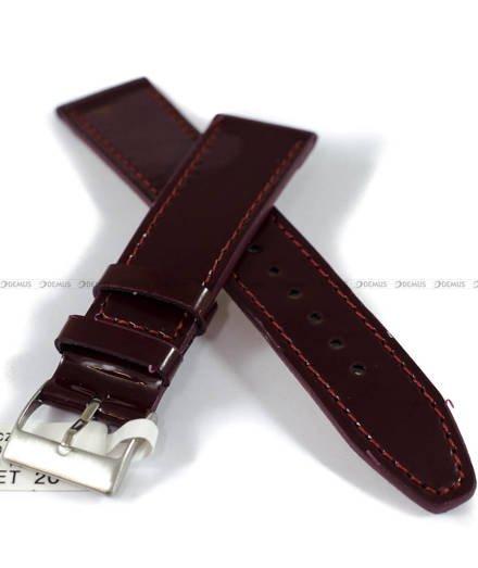 Pasek skórzany do zegarka - Minet MSOUV20 - 20 mm