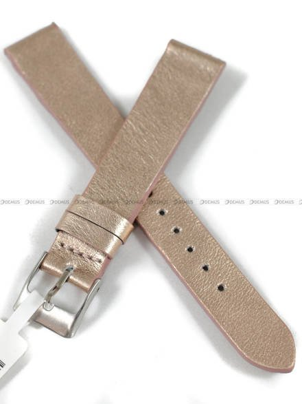 Pasek skórzany do zegarka - Minet MSSUY16 - 16 mm