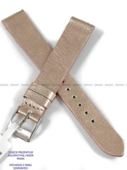 Pasek skórzany do zegarka - Minet MSSUY20 - 20 mm
