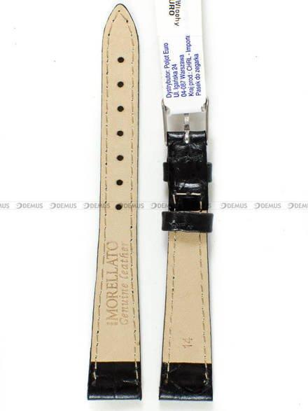 Pasek skórzany do zegarka - Morellato A01D1563821019CR14 - 14 mm
