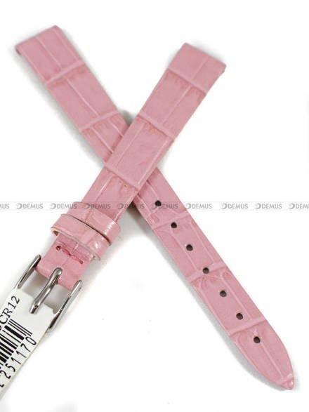 Pasek skórzany do zegarka - Morellato A01D2860656185CR12 - 12 mm