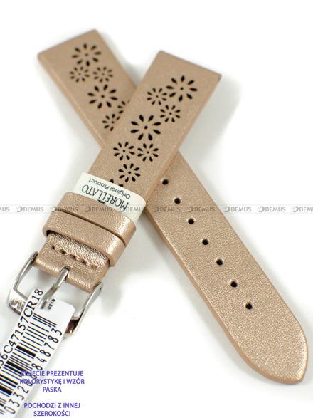 Pasek skórzany do zegarka - Morellato A01D5256C47157CR16 - 16 mm