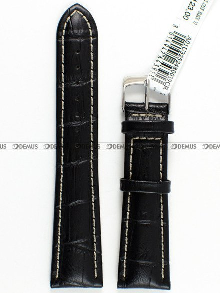 Pasek skórzany do zegarka - Morellato A01U3252480019 - 20 mm