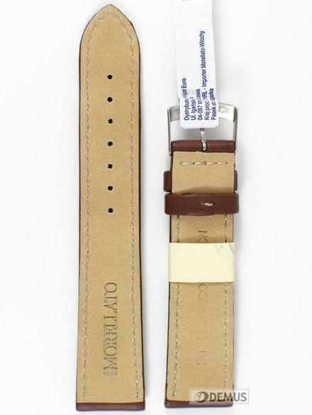 Pasek skórzany do zegarka - Morellato A01U3687934034 20mm