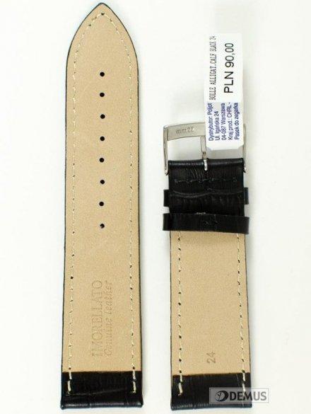 Pasek skórzany do zegarka - Morellato A01X2269480019 24mm