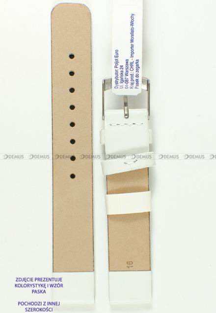 Pasek skórzany do zegarka - Morellato A01X3076875017CR18 - 18 mm