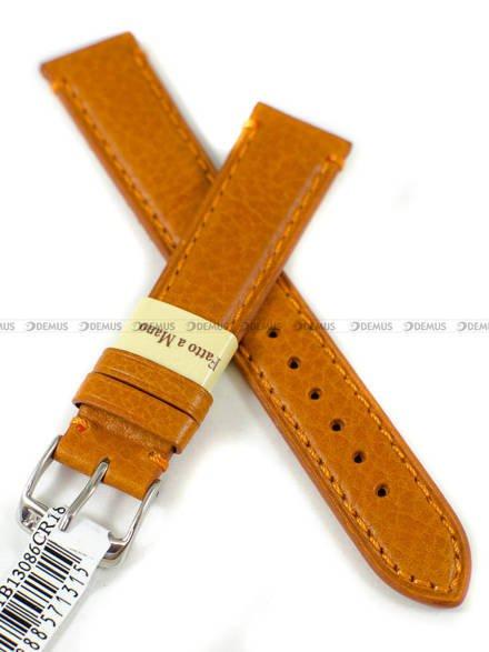 Pasek skórzany do zegarka - Morellato A01X4271B13086CR18 - 18 mm
