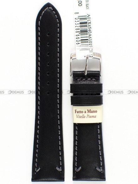 Pasek skórzany do zegarka - Morellato A01X4540A61019 - 22 mm