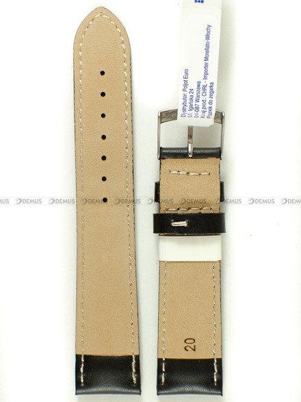 Pasek skórzany do zegarka - Morellato A01X4937C23019CR20 - 20 mm