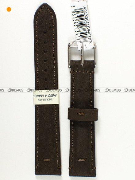 Pasek skórzany do zegarka - Morellato A01X5041B94032CR20 - 20 mm