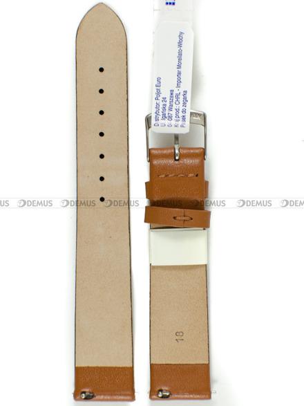 Pasek skórzany do zegarka - Morellato A01X5200875137CR18 - 18 mm