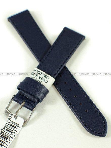 Pasek skórzany do zegarka - Morellato A01X5202875062CR18 - 18 mm