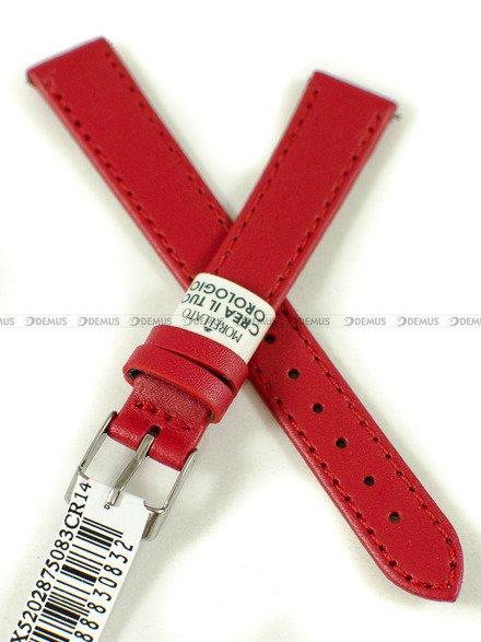 Pasek skórzany do zegarka - Morellato A01X5202875083CR14 - 14 mm