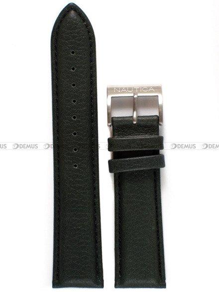 Pasek skórzany do zegarka Nautica A16693GS - 22 mm